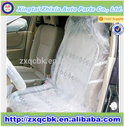 Factory price hot selling!! ZX plastic car seat covers/PE disposable car seat cover with full set