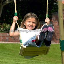 Wooden Garden Swing Seat With Rope