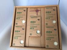 nuovo arrivo kraft carta da regalo riso di imballaggio