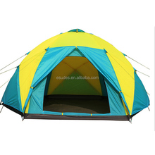 Super size camping tent with 3 doors for 10 people or party sudes-029