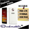 China smartphone con android 4.4 octa núcleo mtk6592 elephone p3000s