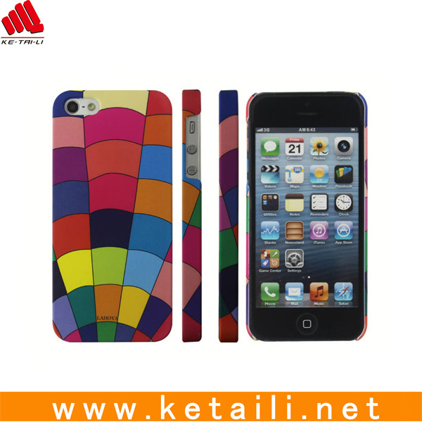 Newest design plastic cell phone case for iphone 5