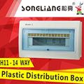 Maneira h11-14 unidade elétrica de plástico caixa de distribuição