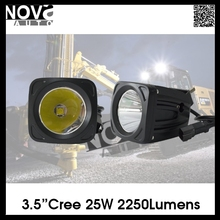 Super Bright Lighting 25w Automotive Car Led Truck Tractor Work light Headlamp