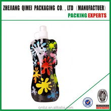 Newest 700ml Reusable Foldable Sport&Outdoor Water Drinking Plastic Bag Portable Folding Water Bottle