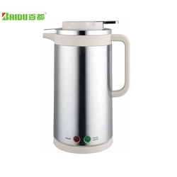 Double layer Electric kettle Stainless steel Automatic power-off thermal insulation kettle