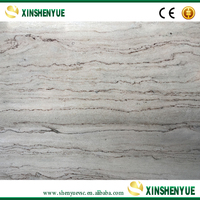 Cut to Size Flamed Marble White Afghanistan
