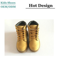 Premium waterproof boots nubuck leather 2015 canadian winter boots for kids