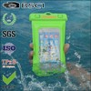 waterproof phone bag for samsung galaxy with armband with IPX8/pvc mobile waterproof phone bag