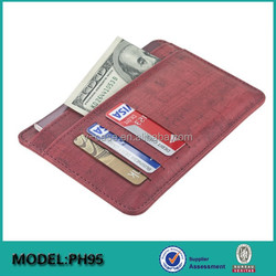 2015 New arrival leather passport holder , Credit card holder , leather card holder