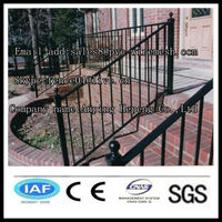 Wholesale alibaba China CE&ISO certificated used wrought iron railing(pro manufacturer)