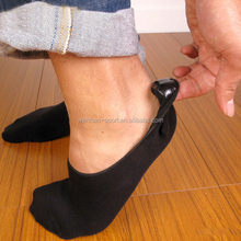 Wholesale custom Invisible sock with Silica gel heel custom no show sock