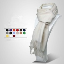 Men's fashion solid color cashmere pashmina scarf