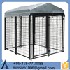 Heavy duty iron dog crate metal dog run& steel pet run& pet house with good looking
