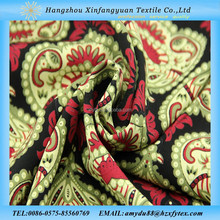 guinea brocade fabric lady dress 100% printed viscose fabric