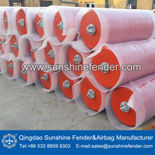 China Solid polyurethane floating fender for supply