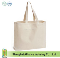 Cheap Raw Cotton Canvas Blank Tote Bag With Customized Logo