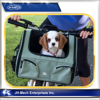 Pet Bike Basket 3-in-1 Car Seat Carrier Bike Basket for Cats and Small Dogs