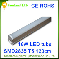 Top quality 16W 1.2m T5 CE RoHS AC85-265V sales agents wanted worldwide