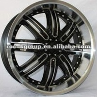 High quality zinc plated 24X10 aftermarket alloy wheels