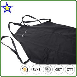 Factory price good quality customized wholesale cotton kitchen apron