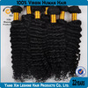 Qingdao factory high quality remy virgin hair extention real hair
