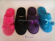 NEW ARRIVAL lovely indoor cheap winter slippers very comfortable