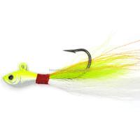 bucktail deer hair jigs with hook fishing baits fishing lure 1oz bucktail jigs new arrived hot sale