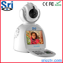 Sricam SP003 Support 18650 Battery Wifi P2P Wireless Security Recordable Camera System Wireless