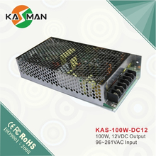 Meanwell KAS-100W-12 12V 100W CCTV power supply with pfc