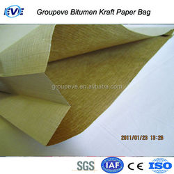 Kraft Bag for Hot Oxidized Bitumen Packing