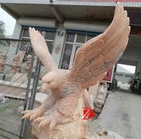 garden stone eagle statues for sale