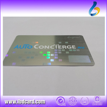 High Range Customized PVC Laser Card