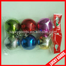 personized delicate various design christmas ball