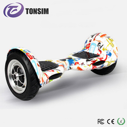 Portable Smart LED Drifting Scooter 10 Inch Wheel Balance Camo Hover Board