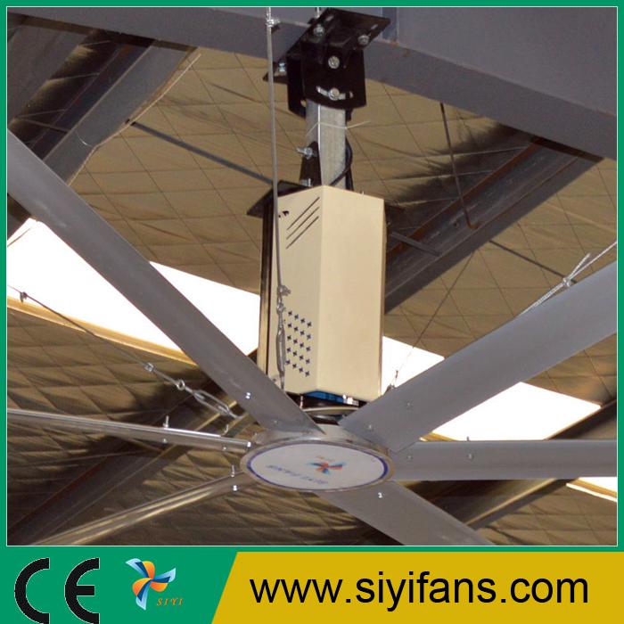 Large Ceiling Fan Industrial: 24ft Big Wind Large Diameter Industrial Hvls Ceiling Fan