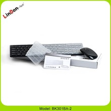 Slim 2.4g wireless keyboard and mouse combo