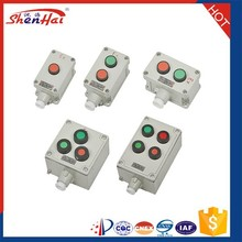 New products Aluminium alloy wall mounted explosion proof control button box