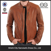 Mens Brown Leather Jacket, Man Leather Jacket, Pakistan Leather Jacket Style for Hot Sale