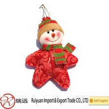 new arriving models nice looking snowman Christmas tree decorations