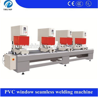Four Head PVC Profile Seamless Colorful PVC Welding Machine