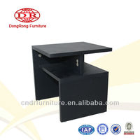 black small tea table