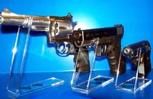 Customized acrylic gun display stand,retail clear acrylic gun display stand,high hardness acrylic rack gun display holder