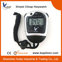 LEAP 12/24 time format cheap funny digital large stopwatch timer