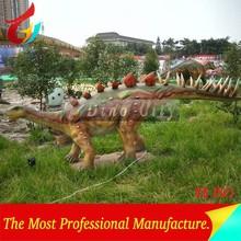 Theme Park Real Size Animatronic Stegosaurus Dinosaurs