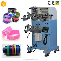Flat/Cylinder Multi-color Silk Screen Printing Machinery for Bottle/Paper Cup and Silicone Wristbands LC-PA-400E