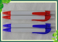 Professional Manufacturer Promotional Ball Pen/New design plastic ballpoint pen print custom logo 1000pcs free shipping