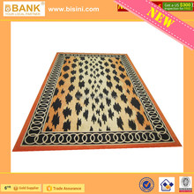 (BK1510-0025)Luxury Leopard Rugs in Hand-made Acrylic Fibers & New Zealand Wool/Fashionable Refinement Rugs/Fascinating Carpet