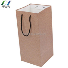 Hot sell from Chinese gold supplier NAVA brand OEM support decorative christmas paper bag
