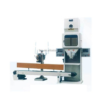 china made PLC control sachet powder filling and sealing machine 10-50kg